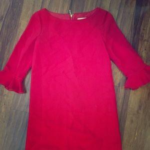 Kate Spade red shift dress